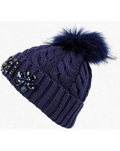 Синяя шапка осенняя Vitacci