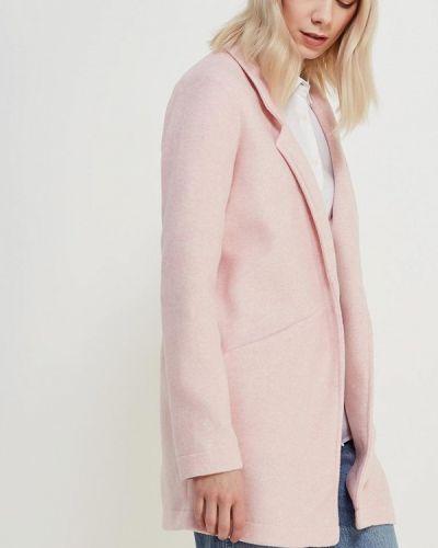 Розовое пальто весеннее Vero Moda