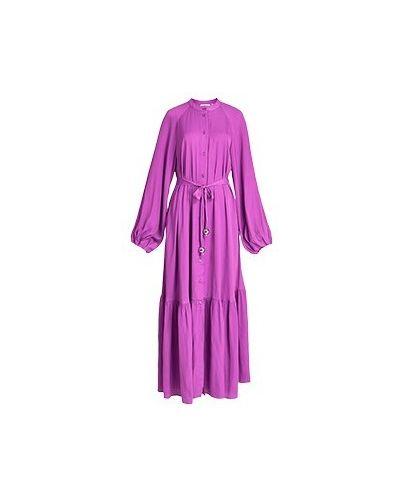 Фиолетовое вечернее платье Essentiel