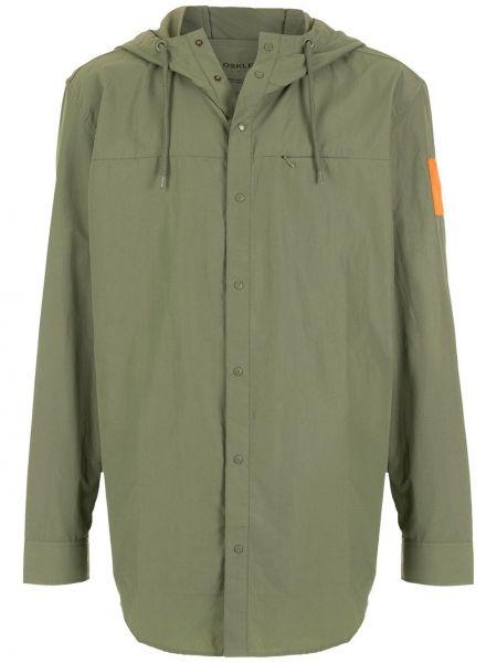Zielona kurtka bawełniana Osklen