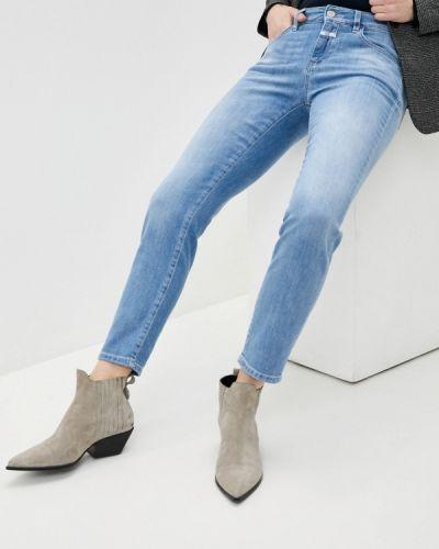 Зауженные джинсы - голубые Closed