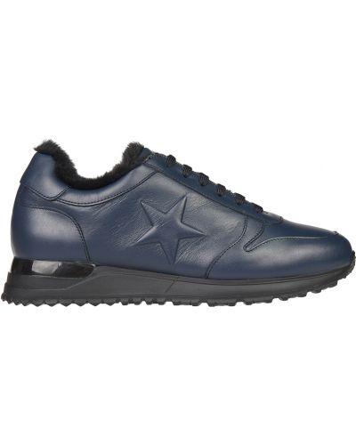 Синие кроссовки Gianni Famoso
