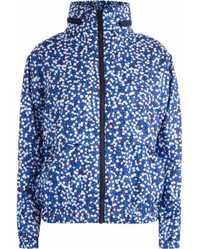 Куртка с капюшоном из полиэстера с карманами Kenzo