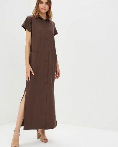 Платье прямое весеннее Vivostyle