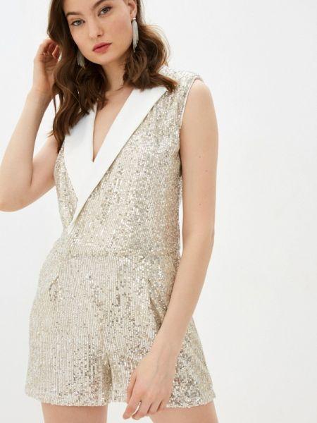 Комбинезон с шортами серебряный Liu Jo