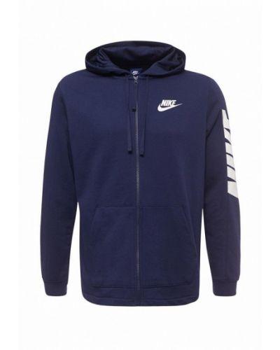 Синяя кофта Nike