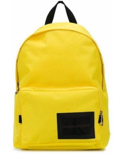 Żółty plecak Calvin Klein