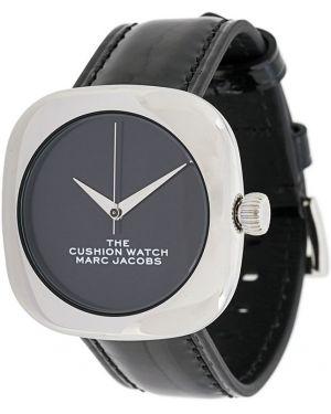 Кварцевые часы с круглым циферблатом на кожаном ремешке Marc Jacobs Watches