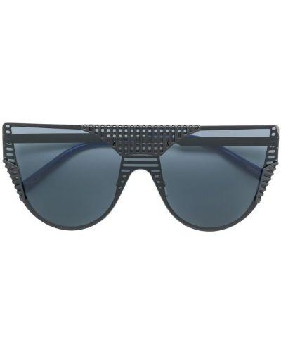 Солнцезащитные очки авиаторы черные Oxydo