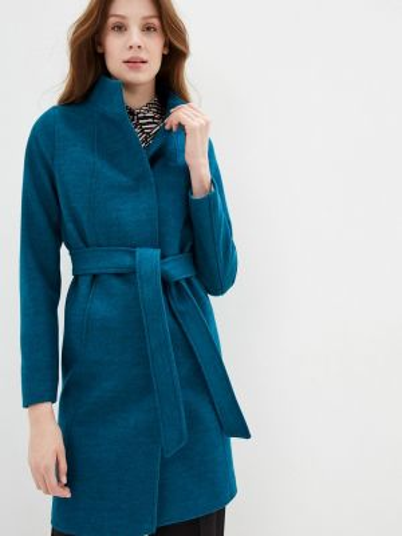 Пальто - бирюзовое Ovelli