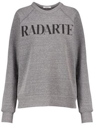 Ватный хлопковый свитшот Rodarte