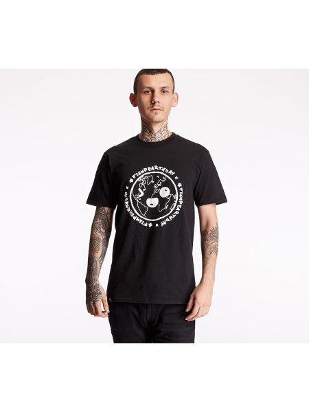 Czarny t-shirt Footshop