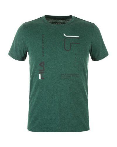 Синяя спортивная футболка Fila