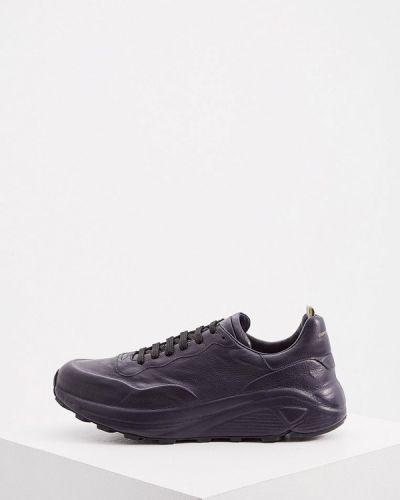 Синие итальянские кроссовки Officine Creative