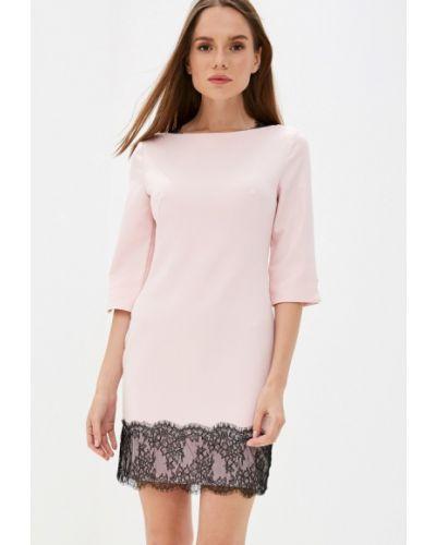 Платье розовое прямое Love Republic