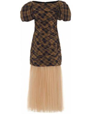 Летнее платье мини модерн Khaite