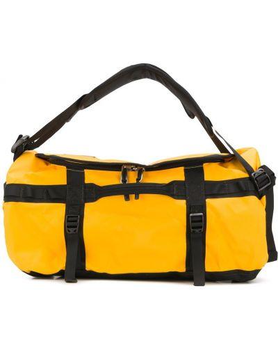 Базовая оранжевая дорожная сумка на молнии The North Face