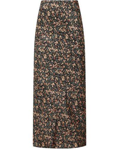 Czarna spódnica z wiskozy Catwalk Junkie