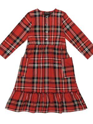 Bawełna bawełna sukienka mini Mini Rodini