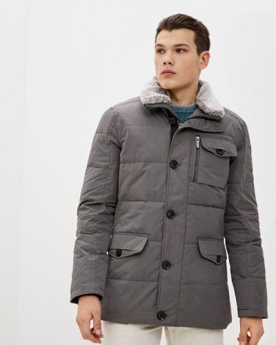 Утепленная серая куртка Savage