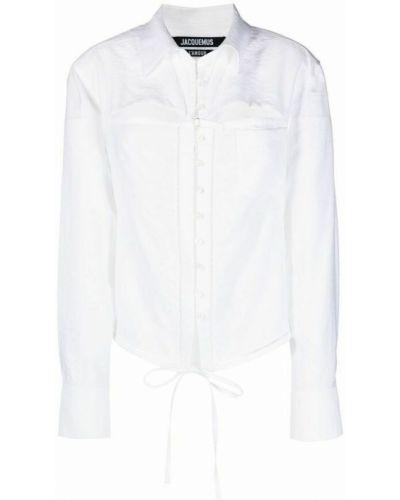 Biała koszula - biała Jacquemus