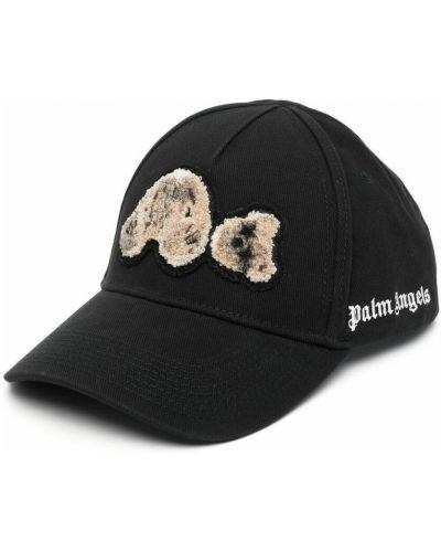 Czarna czapka Palm Angels