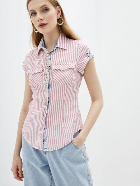 Рубашка с коротким рукавом розовый D'she