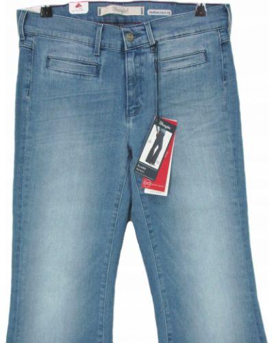 Spodnie dzwony - niebieskie Lee