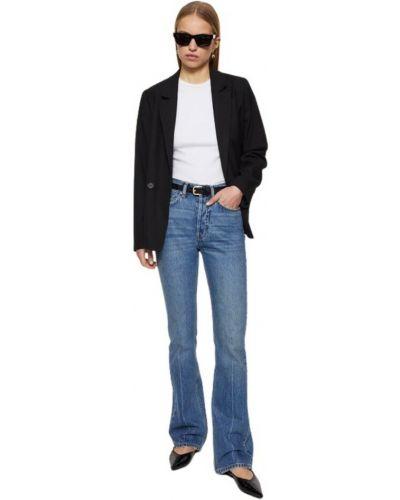 Niebieskie jeansy Anine Bing