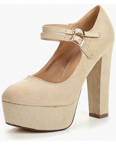 Туфли на каблуке осенние Tulipano