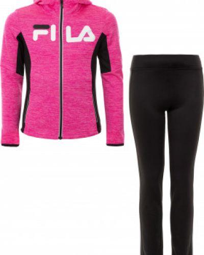 Спортивный костюм розовый Fila