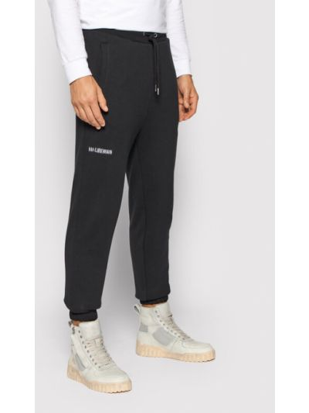 Czarne spodnie dresowe Han Kjobenhavn