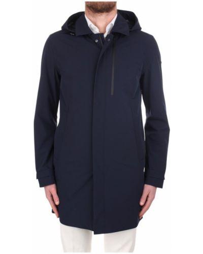 Niebieski płaszcz przeciwdeszczowy Duno