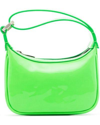 Zielona torebka skórzana Eera