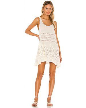 Нейлоновое платье с поясом Free People