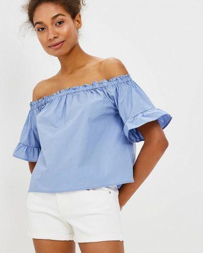 Голубая блузка Piazza Italia