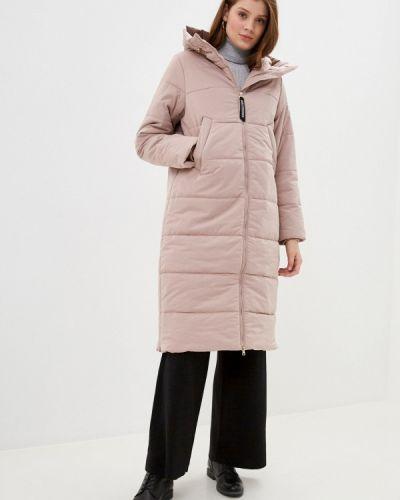 Утепленная розовая куртка Baon