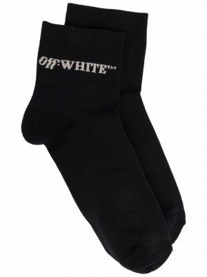 Белые носки с логотипом Off-white
