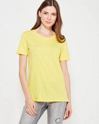 Желтая футболка United Colors Of Benetton