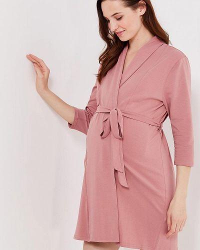 Розовый домашний халат Мамин дом