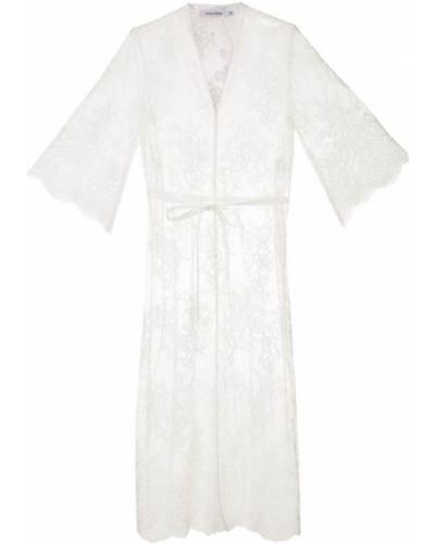 Кружевное платье миди - белое Guild Prime