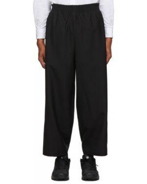 Брючные черные брюки свободного кроя с карманами Camiel Fortgens