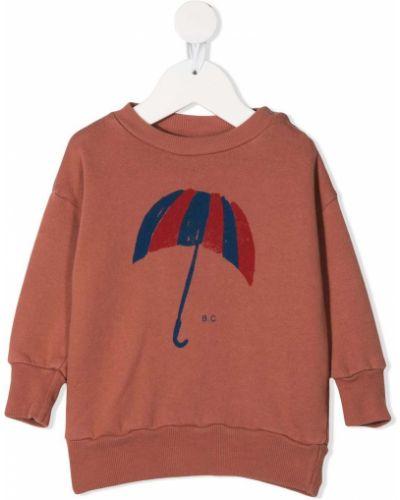 Bawełna z rękawami bawełna brązowy parasol Bobo Choses
