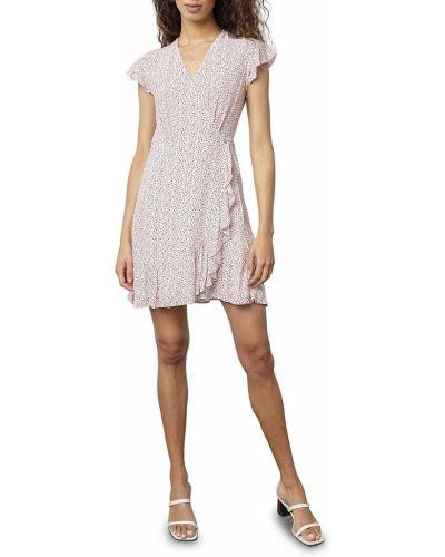Повседневное платье мини с декольте с оборками Rails