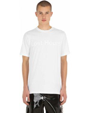 Fioletowy t-shirt bawełniany Last Heirs