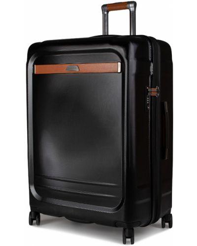 Czarna walizka duża Puccini