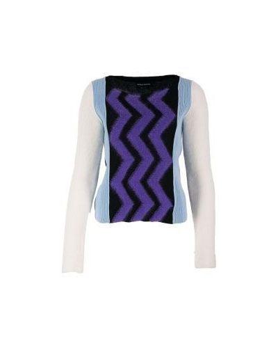 Фиолетовый весенний джемпер Sonia Rykiel