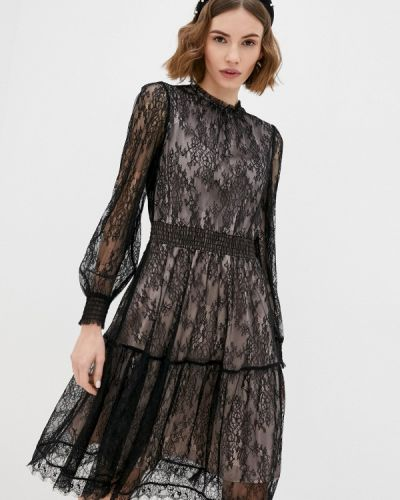Черное вечернее платье Lusio