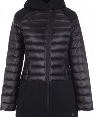 Куртка с капюшоном черная спортивная Mountain Hardwear