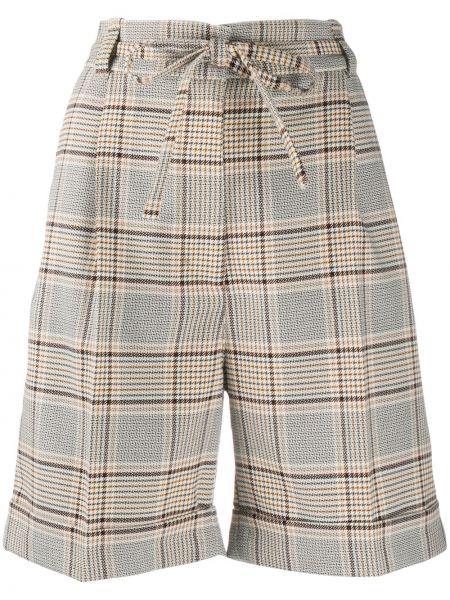 Хлопковые шорты с карманами с потайной застежкой Baum Und Pferdgarten